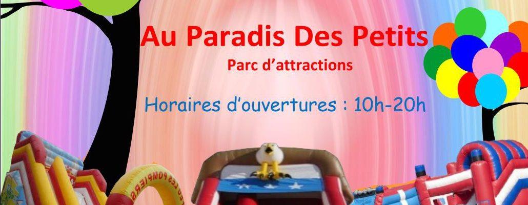 Parc d'attractions structures gonflables de Saint Alban du Rhône